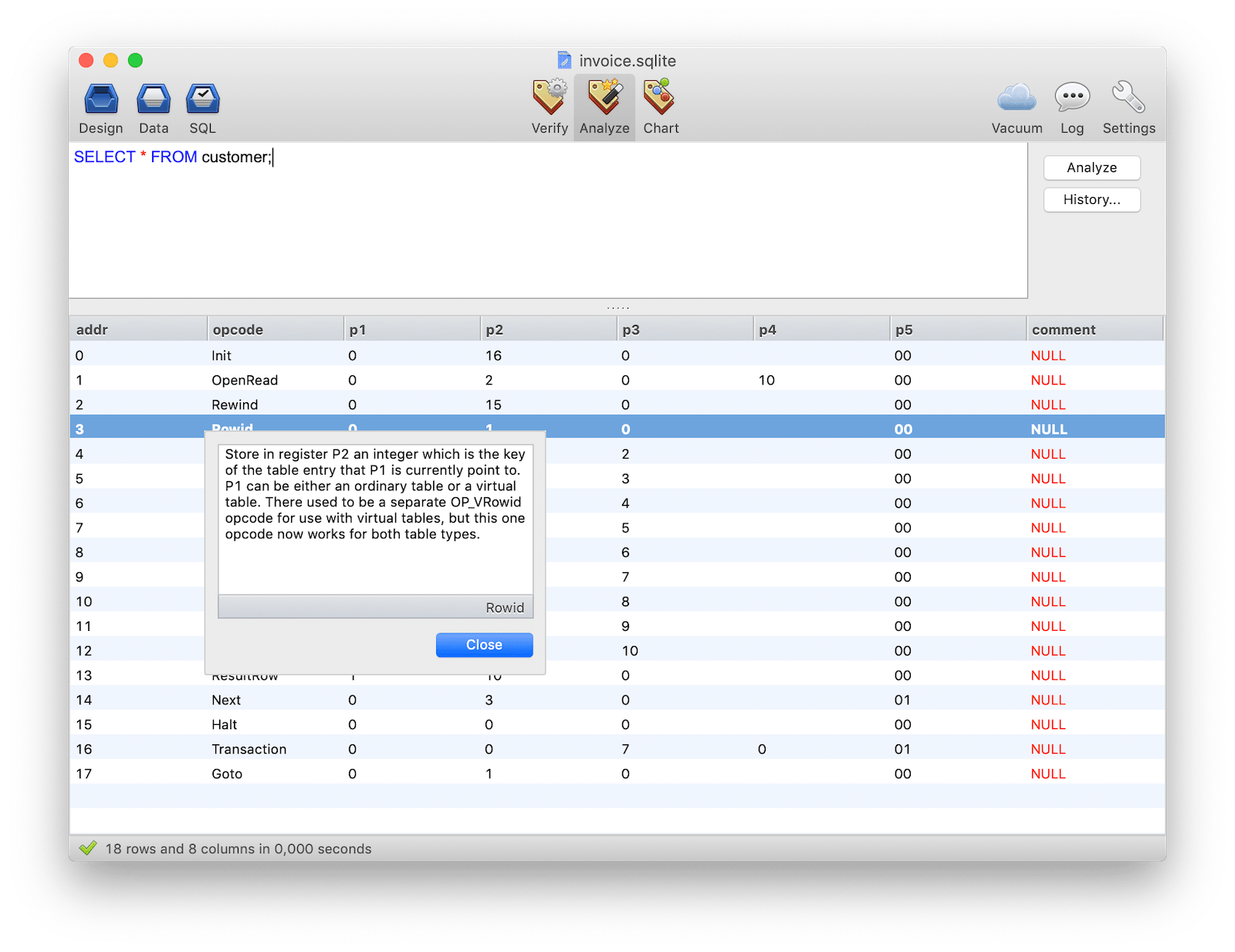 SQLiteManager: The most powerful database management system for